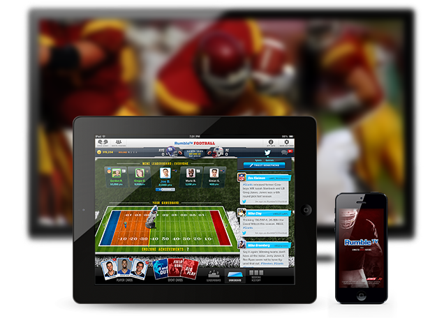 Rumble Football Screenshot