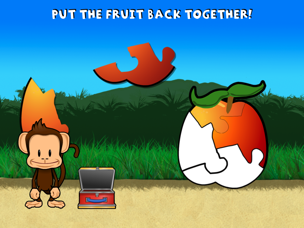 Monkey Preschool Lunchbox Screenshot